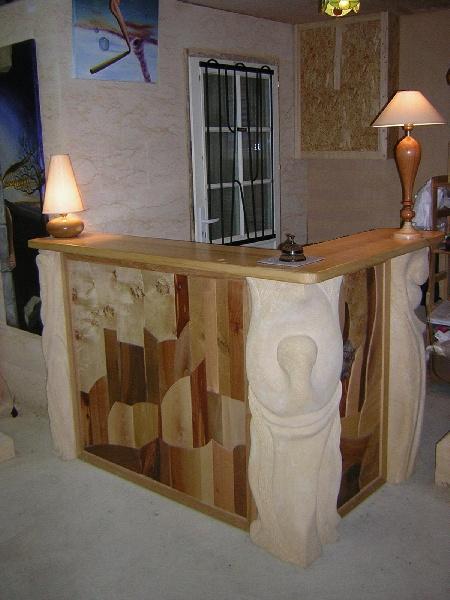 Zyg plume for Bar dans une maison